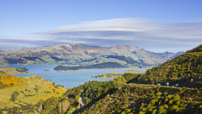 Banks Peninsula Stock Image