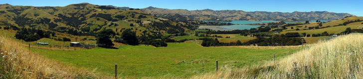 Banks peninsula, New Zealand Royalty Free Stock Photo