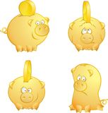 banks piggy Royaltyfri Bild