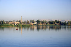 Banks of the River Nile Stock Photo