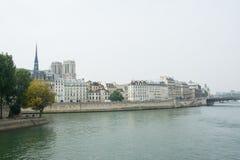 Banks of the Seine Stock Photo