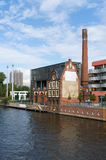On the banks of the Spree. Berlin. Royalty Free Stock Photos
