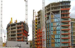 Free Bankside Construction London Royalty Free Stock Photos - 142588088
