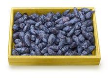 Banksj jagodowe owoc w pudełku Zdjęcia Royalty Free