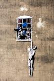 Banksy Στοκ εικόνα με δικαίωμα ελεύθερης χρήσης