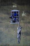 Banksy Стоковая Фотография RF