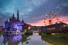 Banksy Dismaland Royalty Free Stock Photography