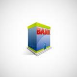 Banksymbol Arkivbild