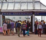 Bankvakantie in Brighton Stock Fotografie