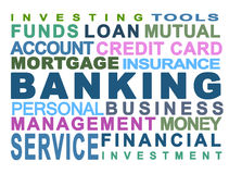 Bankverkehr Stockfotos