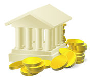 Bankverkehrskonzept stock abbildung