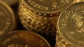 Bankwesen, Geschäft, Finanzierung und Geldthema stock footage