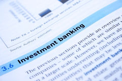 Bankwezen royalty-vrije stock foto