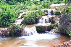 Banlaosu Waterfal Photos libres de droits