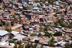 Banlieue à Tegucigalpa image libre de droits