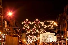 BANLIEUE DE MADRID DE SAN SEBASTIAN DE LOS REYES - 29 SEPTEMBRE : Illu Images libres de droits