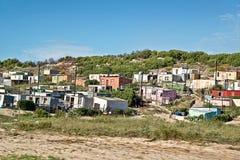 Banlieue noire, Afrique du Sud Images libres de droits