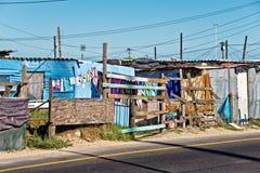 Banlieue noire, Afrique du Sud photographie stock libre de droits