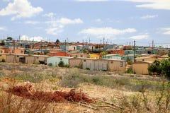 Banlieue noire en Afrique du Sud Photos stock