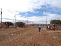 Banlieue noire, Porth-Elizabeht Afrique du Sud photographie stock