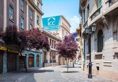 Banlieue Paris-Londres à Santiago, Chili Photo stock