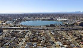 Banlieues de Denver Images libres de droits