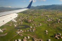 Banlieues de Katmandou, Népal Image libre de droits