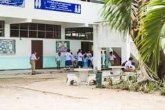 Bann-adang Schule auf Koh Lipe in Satun, Thailand Stockbilder