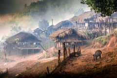 Bann Nor Lae Doi Ang Khang Stock Photos