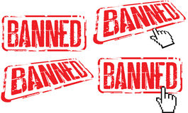 Banned Royalty Free Stock Photo