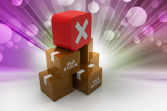 Banned goods Royalty Free Stock Image