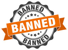 Banned stamp Stock Photos