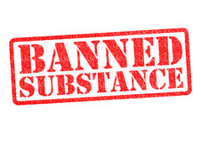 BANNED SUBSTANCE Royalty Free Stock Images