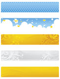 Banner royalty-vrije illustratie