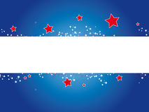 Banner 4th july Royalty Free Stock Photography