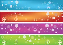 Banner. Easy to resize or change color Stock Photo