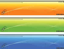 Banner. Easy to resize or change color Stock Photography