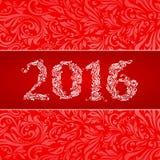 2016 Banner Stock Afbeelding