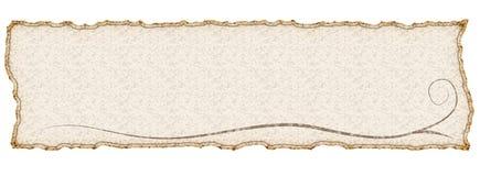 Banner royalty-vrije stock fotografie