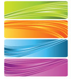 Banner. Colorful banner easy to resize or change color Royalty Free Stock Photography