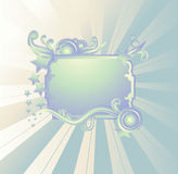 Banner. Colorful banner easy to resize or change color Royalty Free Stock Images