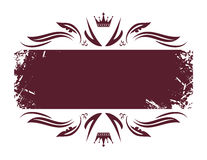 Banner. On the white background Royalty Free Stock Images