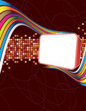 Banner. Colorful background with place for your text Royalty Free Stock Images