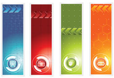 Banner. Icon banner easy to resize or change color Royalty Free Stock Photo