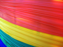 Banner. The colors of the rainbow flag representing they gay community Stock Image