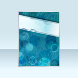 Banner with abstract  background Stock Photography