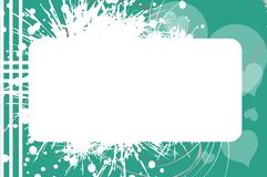 Banner on abstract background Royalty Free Stock Photos