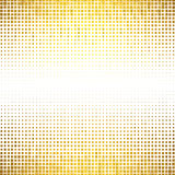 Banner abstract gold background Halftone Stock Images