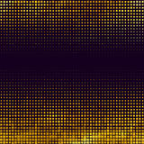 Banner abstract gold background Halftone Stock Photo