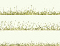 Banner of abstract meadow grass. Stock Image